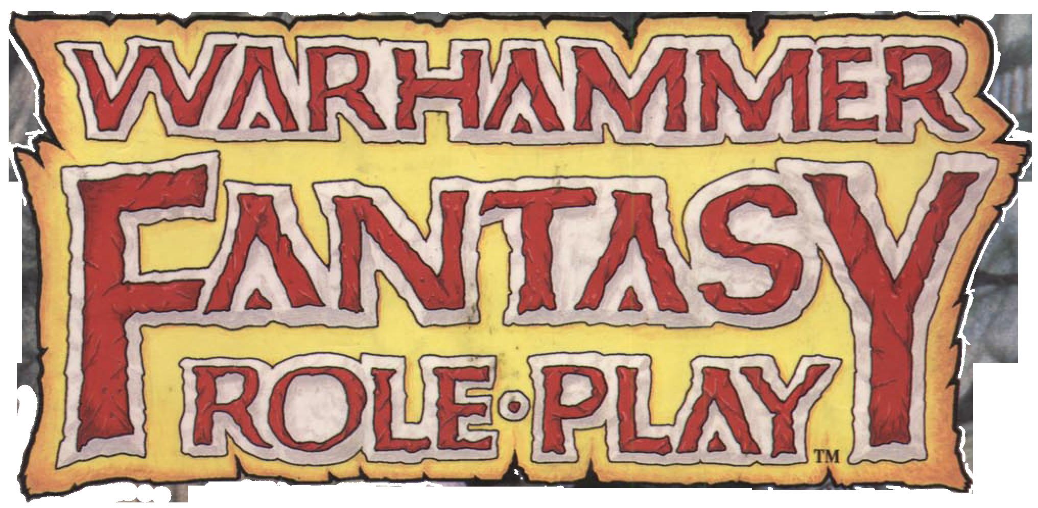 Warhammer Fantasy 1E