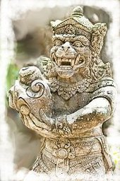Tusk Statue