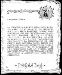 Carta para Etelka Herzen