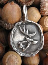 Stag's Head pendant