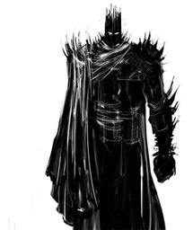 Man in Black Armor