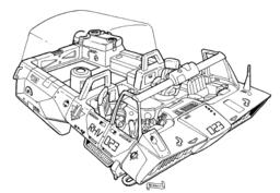 RHV-60 Reloader Hover Vehicle