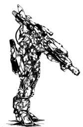 QGB-8-88 Silver Wolf Glitter Boy
