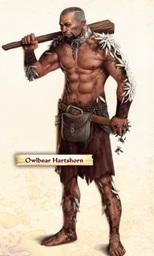 Owlbear Hartshorn