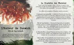 - Héraut: L'horreur de Dunwich