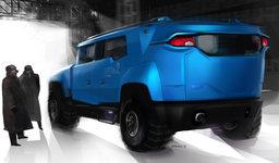 """Dynamika-Kamuz """"Amur"""" SUV"""
