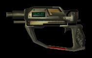 Energy Pistol, Laser