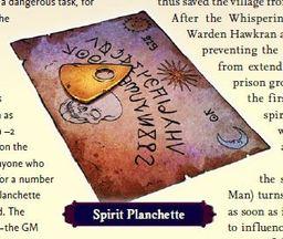 Spirit Planchette - Brass