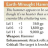 Earth-Wrought Hammer