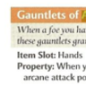 Gauntlets of Arcane Might