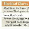 Blackleaf Gloves