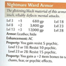 Nightmare Ward Armor