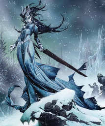 Ingrid, Leader of the Frost Witches
