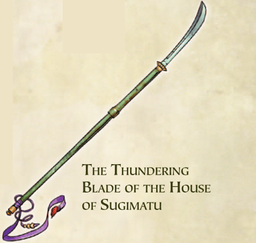 The Thundering Blade of the House of Sugimatsu