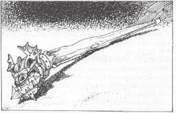 Orichalus - Stab von Akarem, dem Magierarchitekten