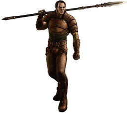 Belach the Thrice-Burned, m. half-orc, Honored Delver, leader of Stormwalkers