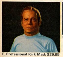 Kirk Mask