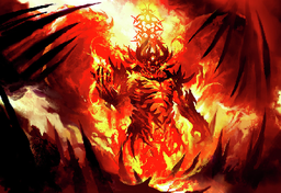 Khuldark the Elemental Prince of Flame