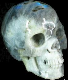 Moonstone Skull