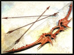 +2 Darkwood Ivory thundering Comp Longbow