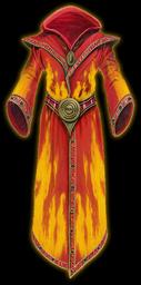 Fireburst Robe