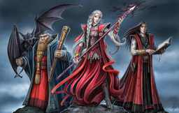 Red Wizards of Vellgard Manor