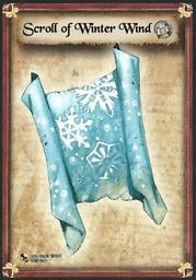 Scroll of Winter Wind