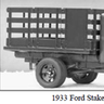 1933 Ford Stake Truck