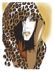 Snow Leopard cloak