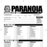 Paranoia Character Sheet