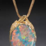 Common opal pendant