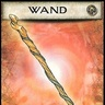 Bone and metal wand of Magic Fang (3rd level caster)