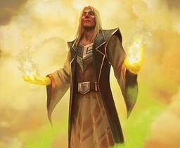 Liam Summist - High Priest Solastian