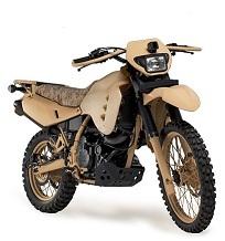 Vehicle: Military Motorcycle, Alcohol Engine
