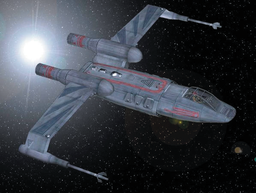 "Sorosuub Preybird Class Starfighter ""Zhari Maru"""