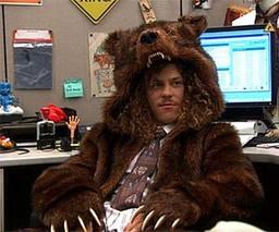 Raistlin's Bear Cloak