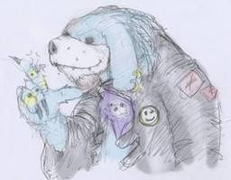 Fuufuu Darkroyal: The Blue Gnoll