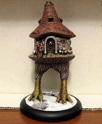 Model of Baba Yaga's Hut