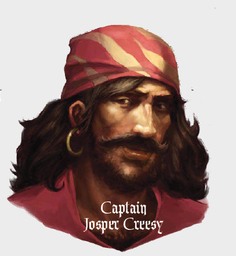 Captain Josper Creesy