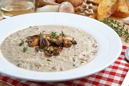 Fa-Kseen's Cream of Mushroom Soup
