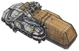Le Vagabond Wayfarer class freighter