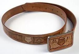 Wolfskull Belt