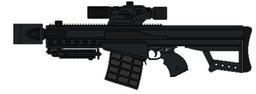 "Warchild's ""Zeus"" (Custom Sawed-off .50 Cal Sniper Rifle)"