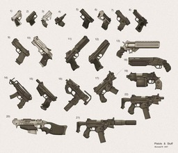 Shadowrun Firearms