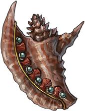 Gemmed Conch Shell (magic)