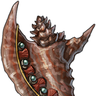 Gemmed Conch Shell (magic)