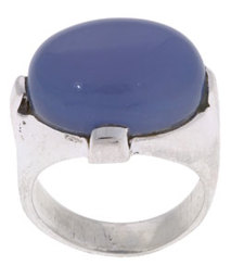 Blue Calcite Ring