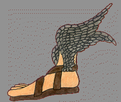 The Winged Sandals of Perseus
