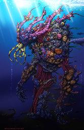Coral Golem