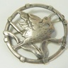House Orbost Stork Brooch